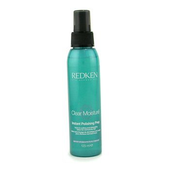 RedkenClear Moisture Instant Polishing Prep Spray (Leave-In Cutting and Detangling Lotion for Normal/ Dry Hair) 125ml/4.2oz