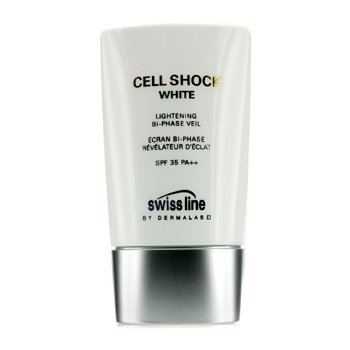 SwisslineCell Shock White Lightening Bi-Phase Velo Blanqueador SPF 35 PA++ 45ml/1.8oz