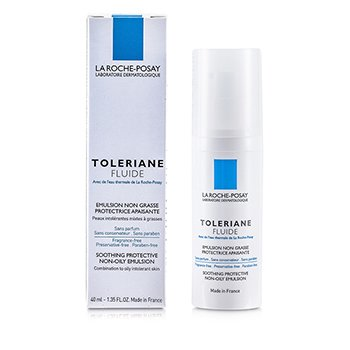 La Roche PosayToleriane Fluid Soothing Protective Non-Oily Emulsion (Combination to Oily Skin) 40ml/1.35oz