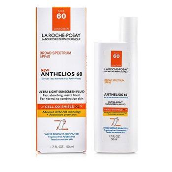 La Roche PosayAnthelios 60 Ultra Light Sunscreen Fluid (Normal/ Combination Skin) 50ml/1.7oz