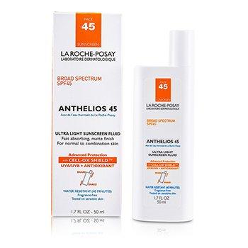 Anthelios 45 Ультра Легкий Солнцезащитный Флюид для Лица (для Нормальной и Комбинированной Кожи) 50ml/1.7oz StrawberryNET 1350.000
