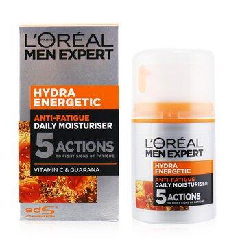 Men Expert Hydra Energetic Ежедневный Увлажняющий Лосьон против Усталости 50ml/1.6oz от Strawberrynet