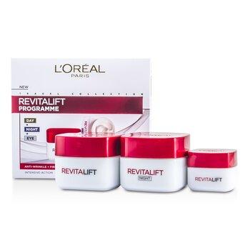 L'OrealRevital Lift Programme: Crema de D�a + Crema de Ojos +  Crema de Noche 3pcs