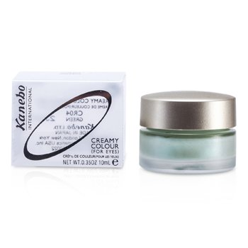 Kanebo Creamy Color For Eyes - # CR04 Green  10ml/0.35oz