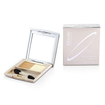 Kanebo Color de Ojos Duo - # EC25 Peaceful Beige  3g/0.1oz