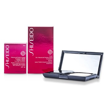 Shiseido Advanced Hydro Liquid Base de Maquillaje Compacta SPF10 ( Estuche + Recambio ) - B60 Natural Deep Beige  12g/0.42oz