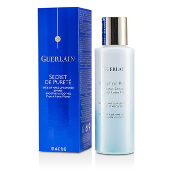 GuerlainSecret De Purete Biphase Eye & Lip MakeUp Remover (Smoothes & Soothes) 125ml/4.2oz
