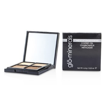 GloMineralsGloMetallic Smoky Eye Kit 4x1.6g/0.055oz