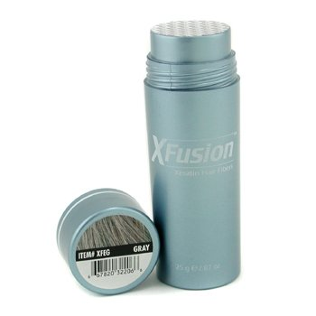 XFusion Keratin Hair Fibers - Gray  25g/0.87oz