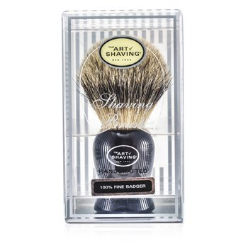 The Art Of Shaving Fine Badger Brocha de Afeitar - Black  1pc