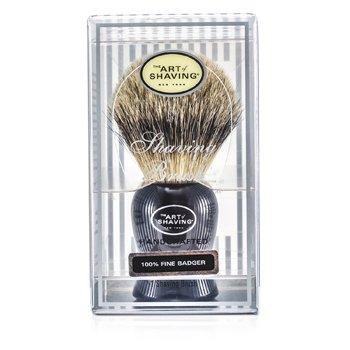The Art Of ShavingFine Badger Brocha de Afeitar - Black 1pc