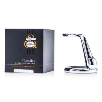 Image of The Art Of Shaving Fusion Chrome Collection For Shaving Brush & Razor Stand 1pc