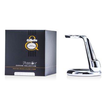 The Art Of ShavingFusion Chrome Collection For Shaving Brocha & Sorporte de Afeitar 1pc