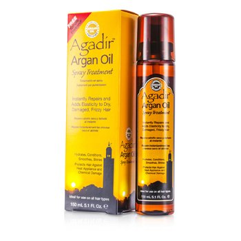 Hydrates  Conditions  Smoothes  Shine Spray Treatment (For All Hair Types) Agadir Argan Oil Hydrates  Conditions  Smoothes  Shine Spray Treatment (For All Hair