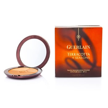 GuerlainTerracotta 4 Seasons Tailor Made Bronzing Powder SPF 10 With Pure Gold # 01 Blondes 10g/0.35oz