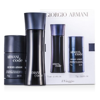 Giorgio ArmaniArmani Code Coffret: Eau De Toilette Spray 75ml + Desodorante en Barra 75g 2pcs