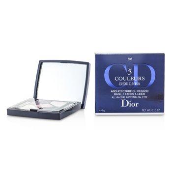Christian Dior 5 Color Designer All In One Artistry Palette – No. 808 Pink Design 4.4g/0.15oz