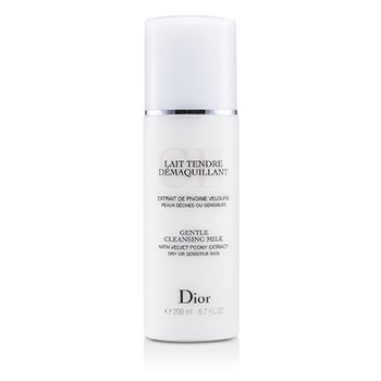 Christian DiorGentle Cleansing Milk (For Dry/ Sensitive Skin) 200ml/6.7oz