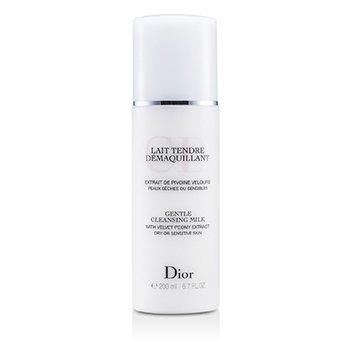 Christian Dior Leche Limpiadora Suave (Para Piel Seca/Sensible)  200ml/6.7oz