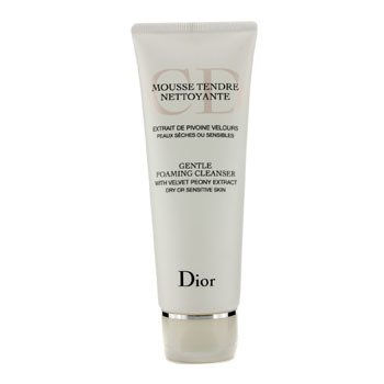 Christian DiorGentle Foaming Cleanser (For Dry/ Sensitive Skin) 125ml/4.2oz
