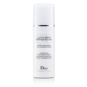 Christian DiorPurifying Cleansing Milk (Normal / Combination Skin) 200ml/6.7oz