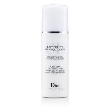 Christian Dior Leche desmaquilladora Purificante ( Piel Normal/Mixta )  200ml/6.7oz