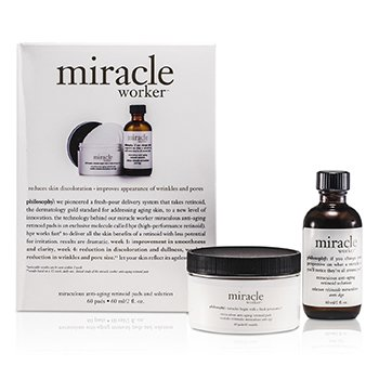 PhilosophyMiracle Worker: Solution 60ml/2oz + Pads 60pads 60pads