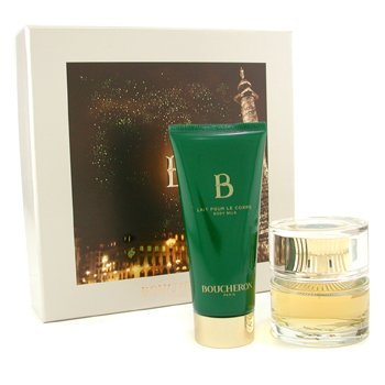 Boucheron B De Boucheron Coffret: Eau De Parfum Spray 50ml/1.6oz + Body Milk 100ml/3.3oz  2pcs