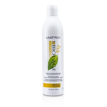 Matrix Biolage Smooththerapie Deep Smoothing Shampoo (For Unruly, Frizzy Hair)  500ml/16.9oz