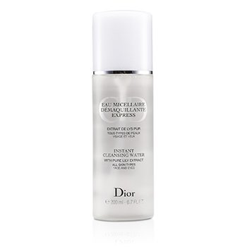 Christian Dior Instant Cleansing Water  200ml/6.7oz