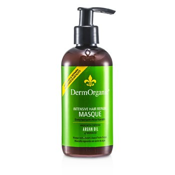 DermOrganic Argan Oil Intensive Hair Repair Masque 236ml/8oz