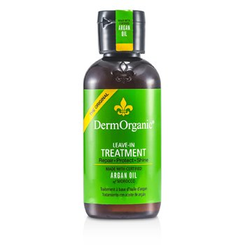 DermOrganicArgan Oil Leave-In Treatment 120ml/4oz