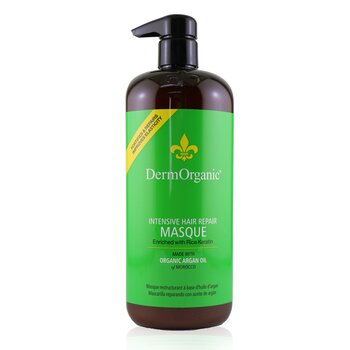 DermOrganic Argan Oil Intensive Hair Repair Masque  1000ml/33.8oz