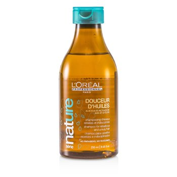 L'OrealProfessionnel Nature Serie - Douceur D'Huiles Shampoo (For Rebellious and Unruly Hair) 250ml/8.45oz