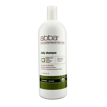 ABBA Daily Shampoo (For All Hair Types) 1000ml/33.8oz