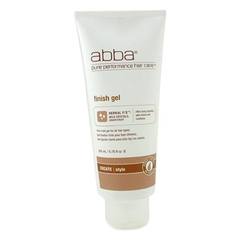 ABBA Finish Firm Hold Gel (For All Hair Types)  200ml/6.76oz