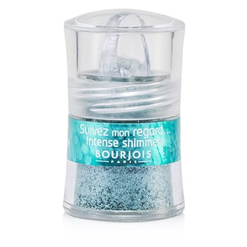 Bourjois Suivez Mon Regard Intense Shimmers Eyeshadow - # 27 Sparkling Blue  2.6g/0.09oz