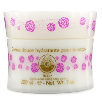 Roger & Gallet Rose Gentle Fragrant Moisturizing Body Cream  200ml/7oz