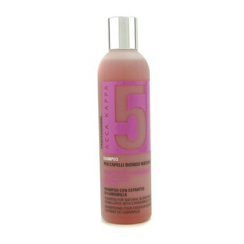 Acca Kappa Shampoo 5 (For Natural Blond Hair)  250ml/8.25oz