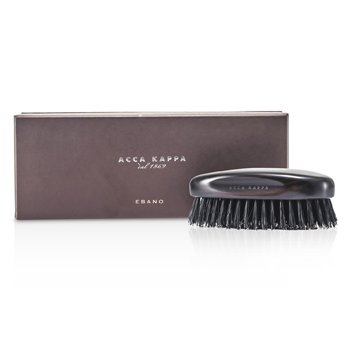 Acca Kappa Military Style Hair Brush - Black (Length 13cm) 1pc