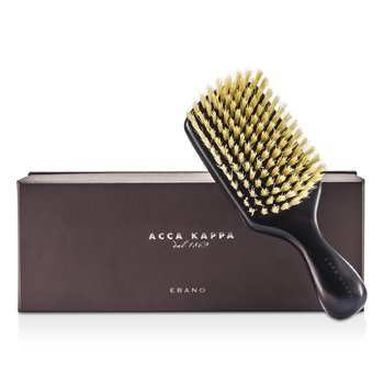 Acca Kappa Club Style Hair Brush - Black (Length 17cm) 1pc