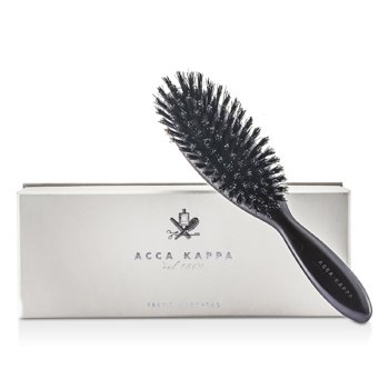 Acca Kappa Parigina Hair Brush - Black (Length 22cm)  1pcs
