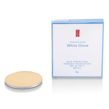 Elizabeth ArdenWhite Glove Skin Perfecting Powder Foundation SPF 20  Refill - Porcelain 8g/0.26oz