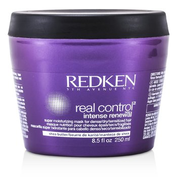 Real ControlReal Control Intense Renewal Super Moisturizing Mask (For Dense/ Dry/ Sensitized Hair) 250ml/8.5oz