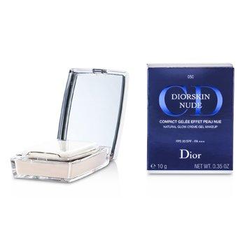 Christian Dior Diorskin Nude Natural Glow Creme Gel Compact Makeup SPF 20 - # 050 Dark Beige  10g/0.35oz