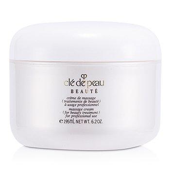 82 Cle De Peau Massage Cream Salon Size 195ml Mint Staw X11