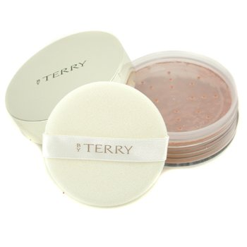 By Terry Voile Poudre Eclat Correcting Mattifying Loose Powder - # 8  Amber Tan  15g/0.52oz