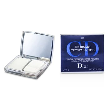 Christian DiorDiorskin Crystal Nude Natural Matte Piel Perfecta- # 001 Invisible 7.5g/0.26