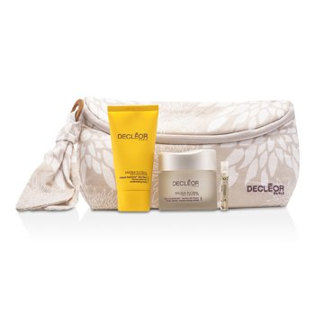 DecleorHydra Floral Natural Beauty Collection: Cream + Mask + Aromessence Neroli + Bag 3pcs+1bag