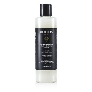 Philip BAfrican Shea Butter Gentle & Conditioning Shampoo (For All Hair Types, Normal to Color-Treated) 350ml/11.8oz